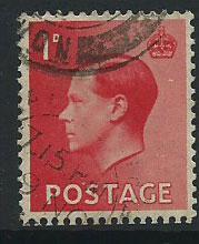 GB Edward VIII  SG 458  FU