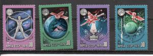 Russia MNH 4665-8 Rockets Space Ships Earth 1978
