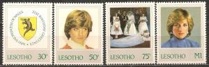Lesotho #372-5 Mint Never Hinged VF CV $4.95 (B211)