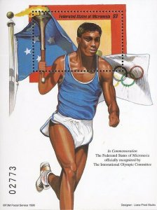 Micronesia - 1998 Olympic Recognition for Micronesia - Souvenir Sheet #288