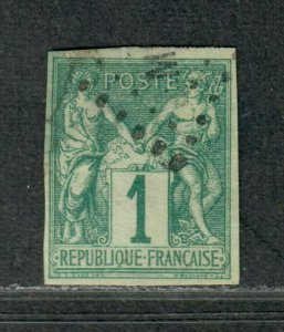 Fr. Colonies Sc#24 Used/VF, Cv. $45