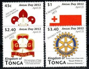 Tonga #1180-83   MNH CV $8.25 (X1432)