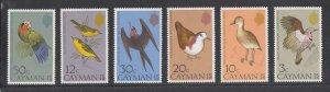 Cayman Islands Scott #354-359 MNH