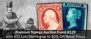 HipStamp Premium Auction #129