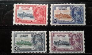 Falklands #77-80 MNH e191.3150