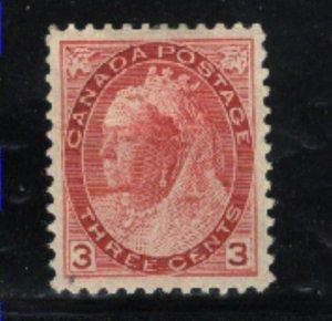 Canada 78   Mint VF 1898   PD