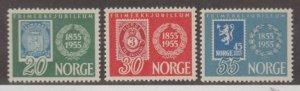 Norway Scott #337-338-339 Stamps - Mint NH Set