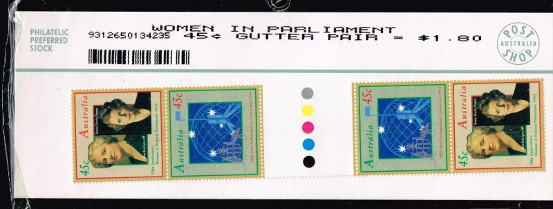 AUSTRALIA STAMP  GUTTER PAIR MNH