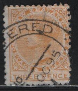 NEW ZEALAND, 63, USED, 1882, Victoria