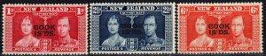 Cook  Islands #109-11  MNH  (X2527)