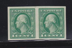 United States 408 Pair MNH George Washington (A)