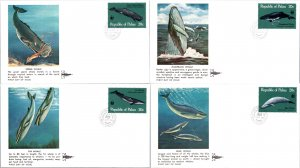 Palau, Whales, Worldwide First Day Cover