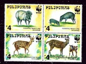 Philippines 2479b MNH 1977 Wild Animals (W.W.F.)    (ap4037)