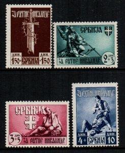 Serbia  2nb23 - 2nb26  MNH  Cat $ 35.00 occupation