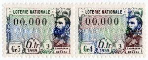 (I.B) France Cinderella : State Lottery Stamp (printer's sample)