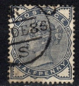 Great Britain #98  F-VF Used CV $9.00 (X1184)