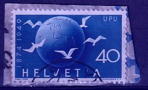 #324 Switzerland Used UPU Issue