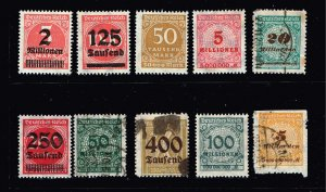 GERMANY STAMP COLLECTION LOT  #4