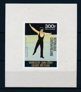 [56057] Central African Republic 1976 Olympic games Figure skating MNH Sheet