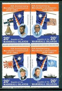 Marshall Islands Sc # 59-62a mint NH (BC)
