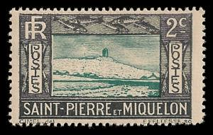 St Pierre and Miquelon 137 Unused (MH)