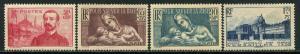 France Lot 6598 RF Postes 1937-9 YVERT 353 OGHR 356 NG 379 MNH 419 MNH Semi-post