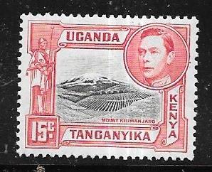 Kenya,Uganda,Tanganyika #-72   15c   (MLH  CV $4.25