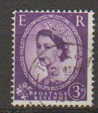 Great Britain SG 615 Used phosphor issue
