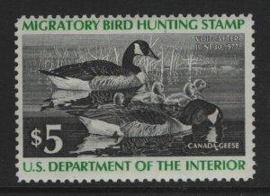 US, RW43, 1976, MNH, DUCK STAMP