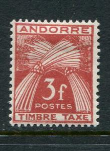 French Andorra #J35 Mint