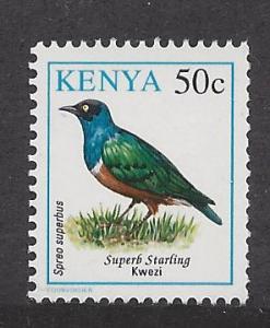 Kenya, 594, Birds Single,**MNH**