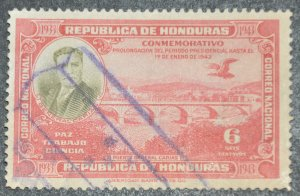 DYNAMITE Stamps: Honduras Scott #332 – USED