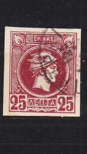 GRIECHENLAND GREECE [1893] MiNr 0090 B ( O/used )