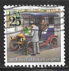 USA 2437: 25c Depot-hack Type Automobile, used, VF