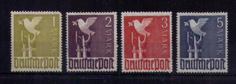MH Germany Sc 574-577, Set of Four Very Fine