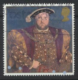 Great Britain SG 1965  Used  - Henry VIII