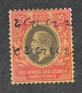 EAST AFRICA & UGANDA Scott #60 Used George V 2013 CV $5.50
