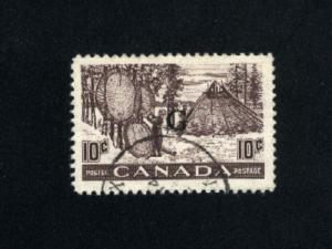 Canada #O26  2   used  1950-51 PD  .20