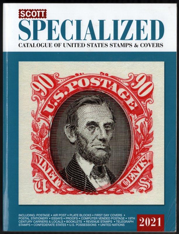 Scott 2021 United States Specialized Catalog
