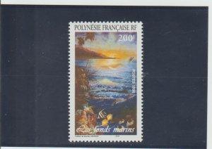 French Polynesia  Scott#  741  MNH  (1998 Painting)