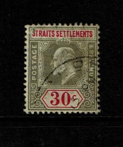 Straits Settlements SG# 117, Used (See Notes) - S7502