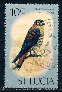 Saint Lucia #393 Single Used