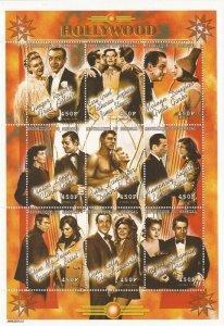 Senegal - 1999 Hollywood Couples Bogie & Bacall, Gable & Leigh-19F-033