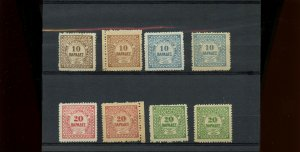 CRETE #2 TO #5 */** MH & MNH 2 sets counterfeit $55+ mint stamps