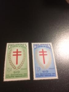philippines sc 819-820 MNH