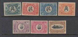 Unlisted Dominican republic PROOFS/ESSAYS (no gum) - NEAT!!!!