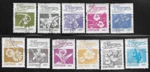 Nicaragua Scott 1592-1607  Used  Short set