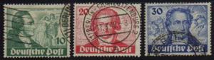 Berlin #9N61-63 Used   VF
