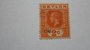 STAMP OF CEYLON MINT HINGED