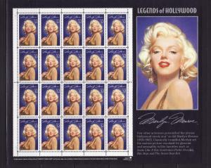 United States 2967 Sheet Set MNH Marilyn Monroe, Actress